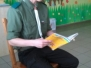 Harcerze czytają dzieciom
