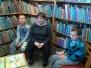 Zajęcia w bibliotece ZS w Sadlinkach